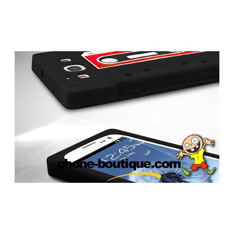 coque k7 noire pour samsung galaxy s3 i9300. Black Bedroom Furniture Sets. Home Design Ideas