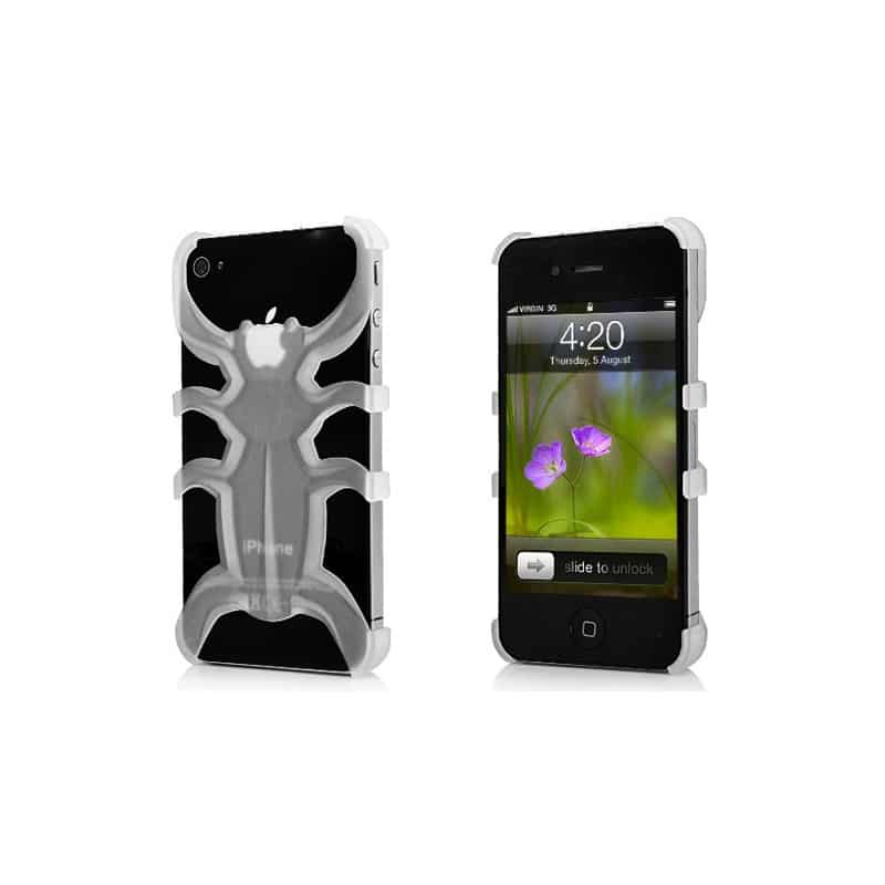 coque araignee transparente pour iphone 4 et 4s. Black Bedroom Furniture Sets. Home Design Ideas