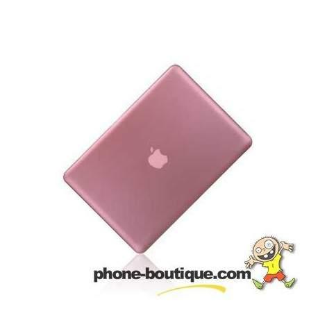 coque crystal rose pour macbook air 13 pouces. Black Bedroom Furniture Sets. Home Design Ideas