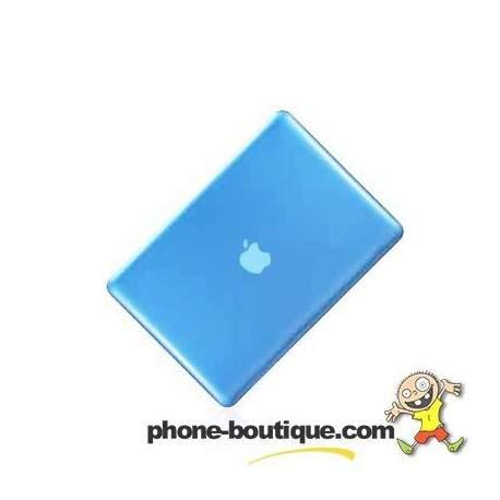 coque crystal bleue pour macbook pro 15 pouces. Black Bedroom Furniture Sets. Home Design Ideas