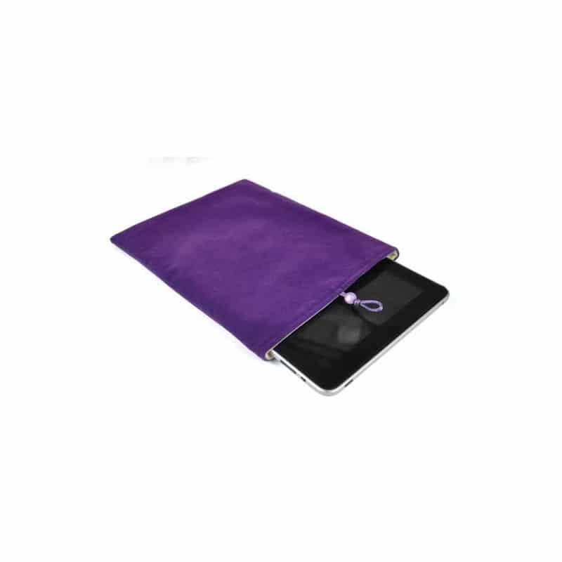 pochette mauve pour tablettes. Black Bedroom Furniture Sets. Home Design Ideas