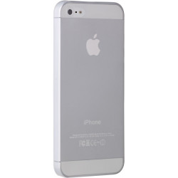Coque CRYSTAL blanche pour iPhone 5