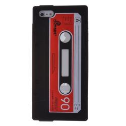 Coque cassette noire pour iPhone 5 5S et SE