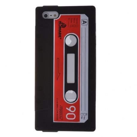 Coque K7 noire pour iPhone 5