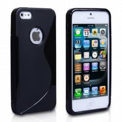 Coque S-LINE noire pour iPhone 5