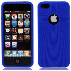 Coque CIRCLE bleue pour iPhone 5 5S et SE