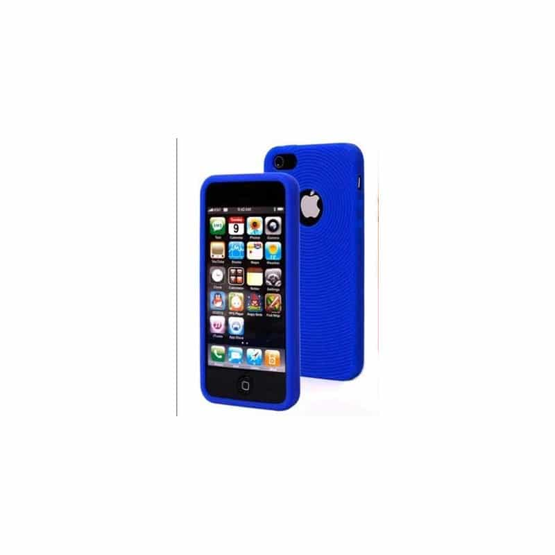 coque circle bleue pour iphone 5 5s et se. Black Bedroom Furniture Sets. Home Design Ideas