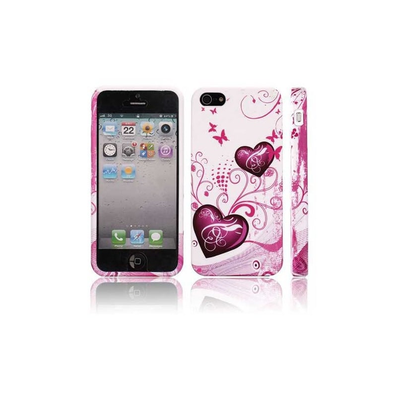 coque coeur pour iphone 5 5s et se. Black Bedroom Furniture Sets. Home Design Ideas