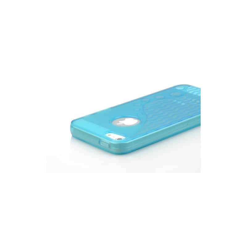 coque wave bleue pour iphone 5 5s et se. Black Bedroom Furniture Sets. Home Design Ideas