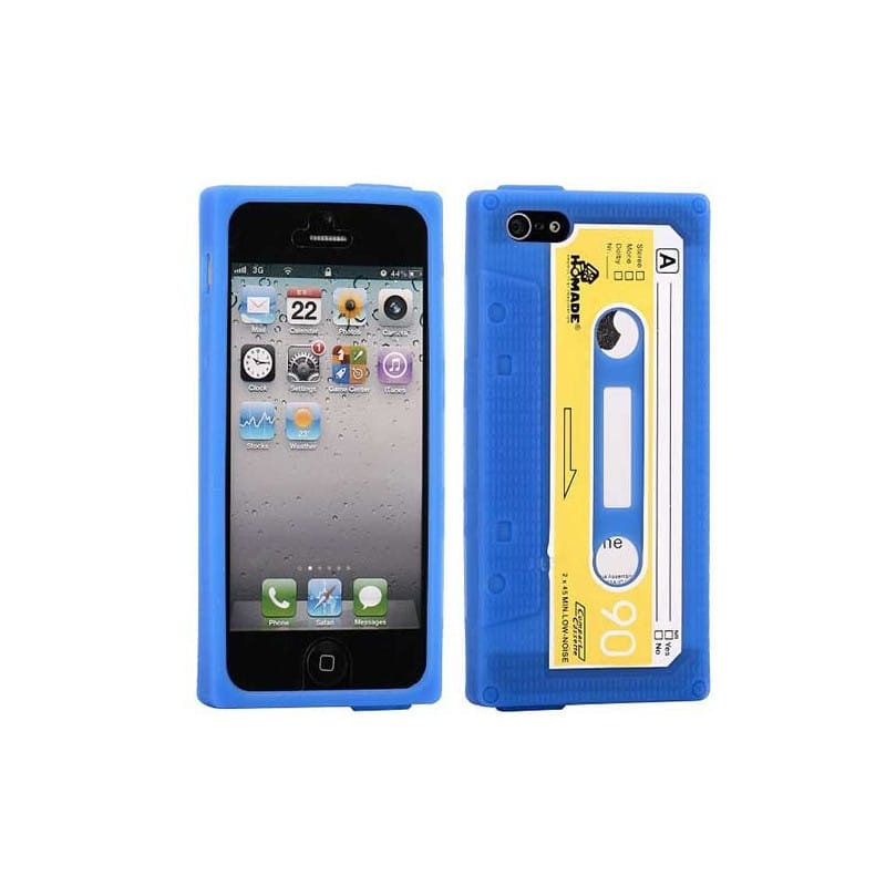 coque k7 bleue pour iphone 5 5s et se. Black Bedroom Furniture Sets. Home Design Ideas
