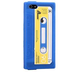 Coque K7 bleue pour iPhone 5 5S et SE