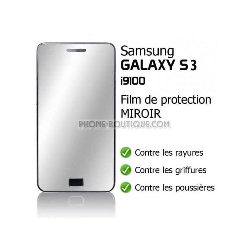films de protection miroir pour samsung galaxy s3. Black Bedroom Furniture Sets. Home Design Ideas