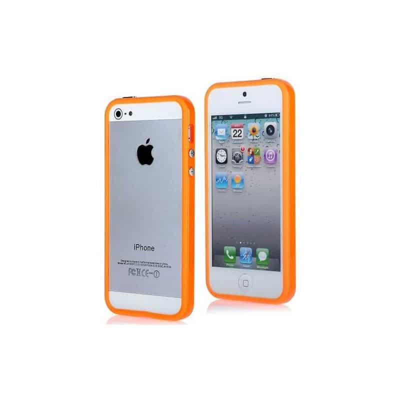 bumper luxe orange pour iphone 5 5s et se. Black Bedroom Furniture Sets. Home Design Ideas