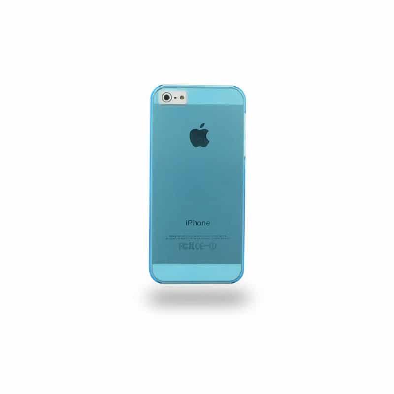 coque crystal bleue pour iphone 5 5s se. Black Bedroom Furniture Sets. Home Design Ideas