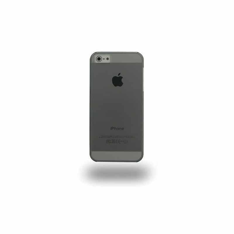 coque crystal noire pour iphone 5 5s se. Black Bedroom Furniture Sets. Home Design Ideas