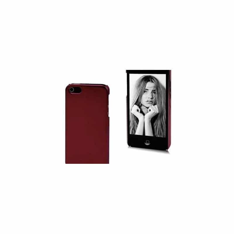 coque miroir rouge pour iphone 5 et 5s. Black Bedroom Furniture Sets. Home Design Ideas