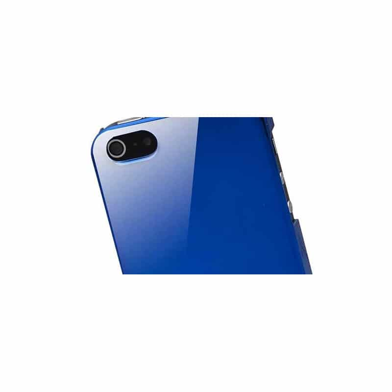 coque miroir bleue pour iphone 5 5s et se. Black Bedroom Furniture Sets. Home Design Ideas