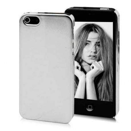 Coque miroir argentee pour iphone 5 5s se for Coque iphone 5 miroir