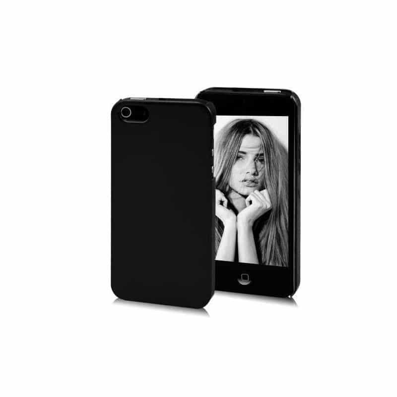Coque miroir noire pour iphone 5 5s se for Application miroir pour iphone