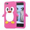 Coque PINGOUIN rose pour iPhone 5