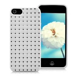 Coque TRESSE blanche pour iPhone 5 5S SE
