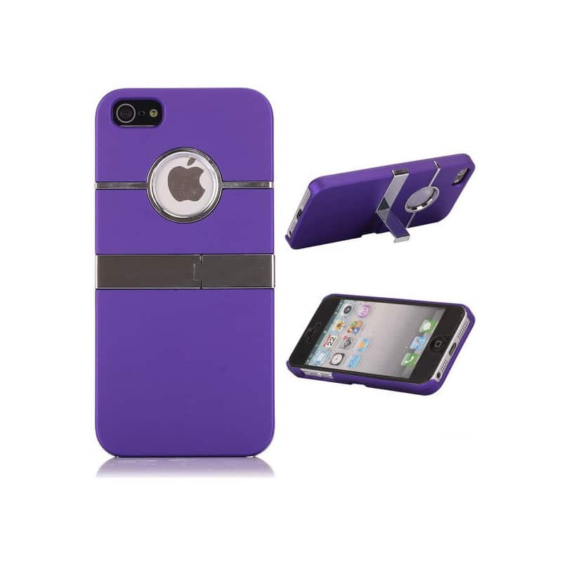 coque ultra tv mauve pour iphone 5 5s et se. Black Bedroom Furniture Sets. Home Design Ideas