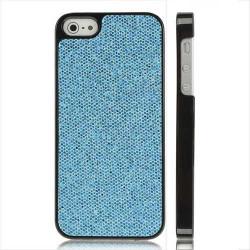 Coque DISCO bleue pour iPhone 5 5S SE