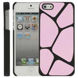 Coque LEZARD rose pour iPhone 5 5S SE