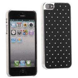 Coque BLING 2 noire pour iPhone 5 SE 5S