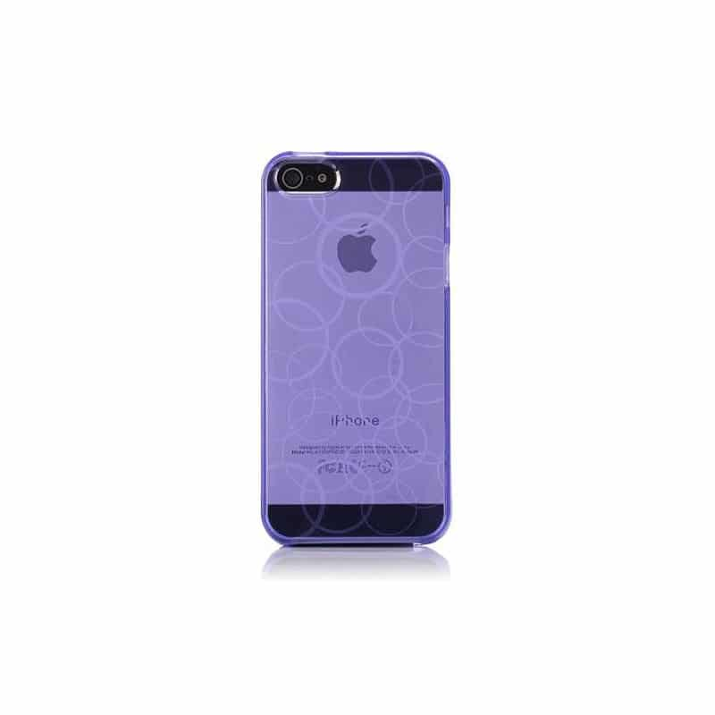 coque circle mauve pour iphone 5 5s et se. Black Bedroom Furniture Sets. Home Design Ideas