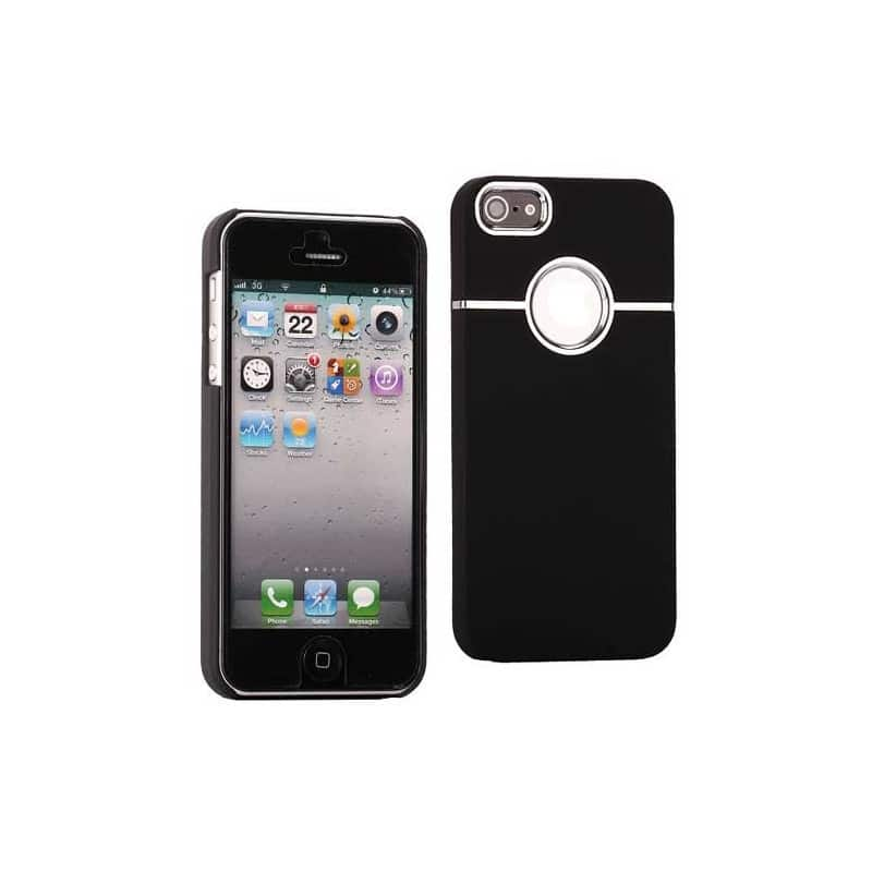 coque ultra noire pour iphone 5 5s se 5c. Black Bedroom Furniture Sets. Home Design Ideas