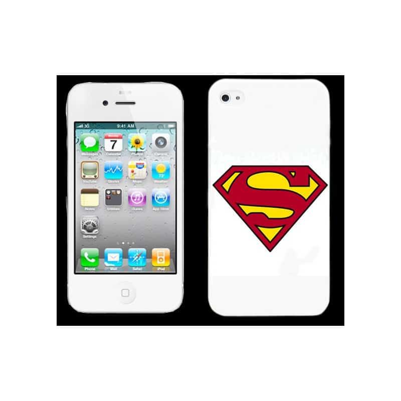 coque superman pour iphone 5 5s se. Black Bedroom Furniture Sets. Home Design Ideas