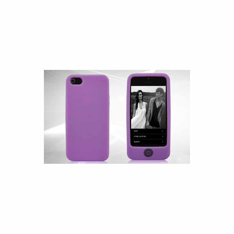 coque integrale mauve pour iphone 5 5s se. Black Bedroom Furniture Sets. Home Design Ideas