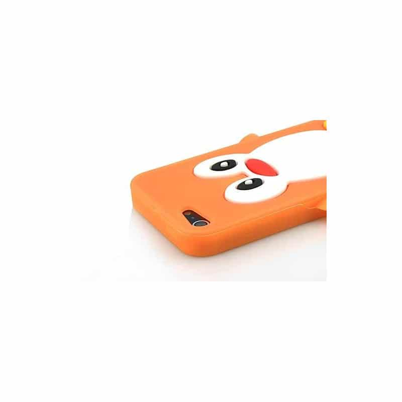 coque pingouin orange pour iphone 5 5s et se. Black Bedroom Furniture Sets. Home Design Ideas