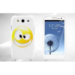 Coque CRAZY SMILEY pour Samsung S3 i9300