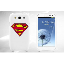 Coque SUPERMAN verte pour Samsung S3 i9300