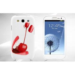 Coque CERISES pour Samsung S3 i9300