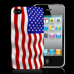 Coque USA FLAG pour iPhone 5 5S SE