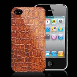 Coque CROCO pour iPhone 4 et 4S
