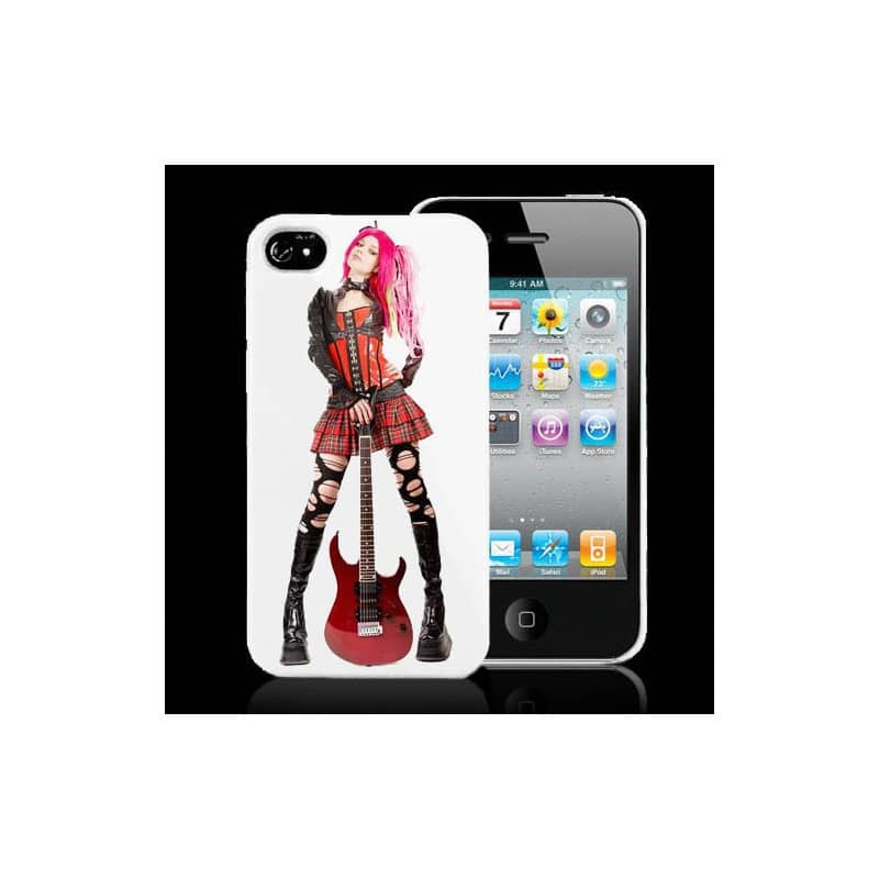 coque guitare pour iphone 4 et 4s. Black Bedroom Furniture Sets. Home Design Ideas