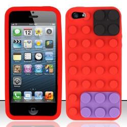 Coque LEGO rouge pour iPhone 5 5S et SE