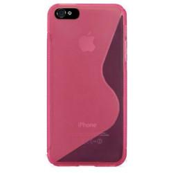 Coque S-LINE 2 rose pour iPhone 5 5S et SE