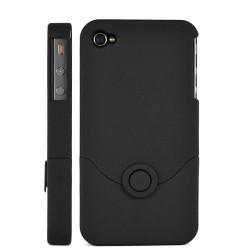 Coque en deux parties de couleur noire pour Iphone 4 et 4S