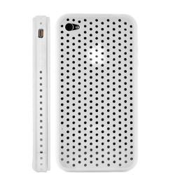 Coque ventilée de couleur blanche pour Iphone 4