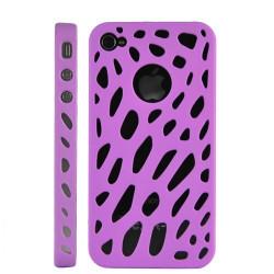 Coque araignee rose pour Iphone 4 et 4S