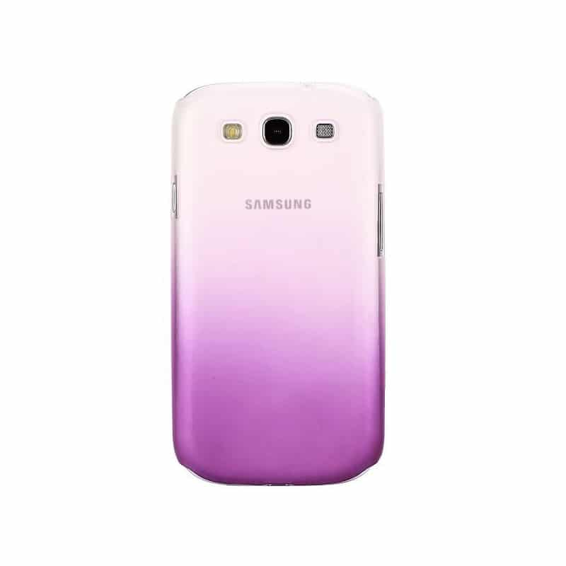 coque water mauve pour samsung galaxy s3. Black Bedroom Furniture Sets. Home Design Ideas
