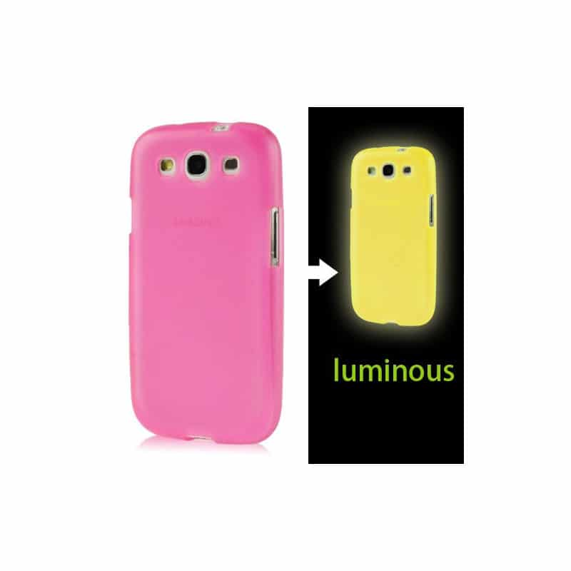 coque fluo rose pour samsung galaxy s3. Black Bedroom Furniture Sets. Home Design Ideas
