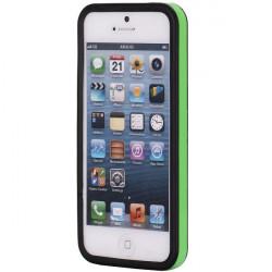BUMPER LUXE vert et noir pour iPhone 5 5S SE
