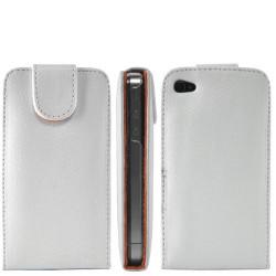 Etui cuir blanc pour Iphone 4 et 4S