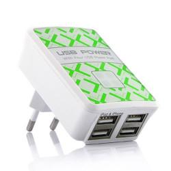 chargeur 4 USB pour telephones et Mp3